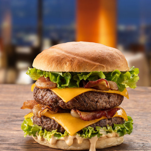Burger Photography by Food Photographer