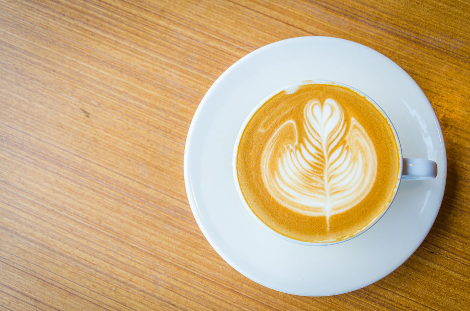 Latter Art Coffee Art - Styling and Photography