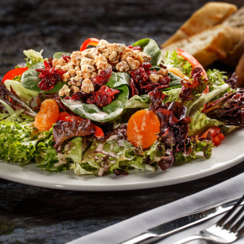 Cranberry Green Salad Food Photo