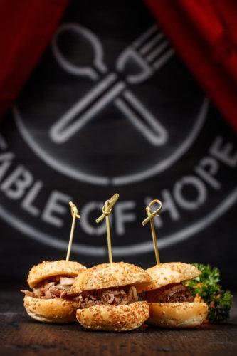 Beef Mini Burgers Photo