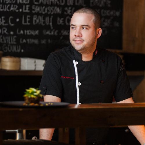 Chef Marcel Larrea Tiradito